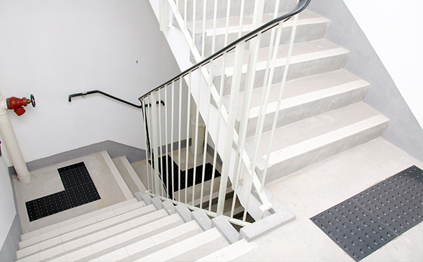 Commercial Basement Stair Lighting: Office, Commercial & Industrial LED Lighting Installation